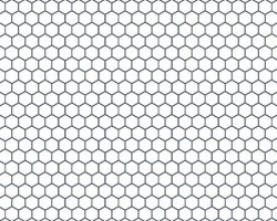 Hexagonal White
